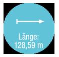Laenge 128,59 m