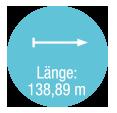 Laenge 138,89 m