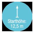 Starthoehe 12,5 m