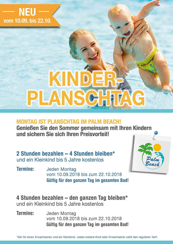 PalmBeach Kinder-Planschtag