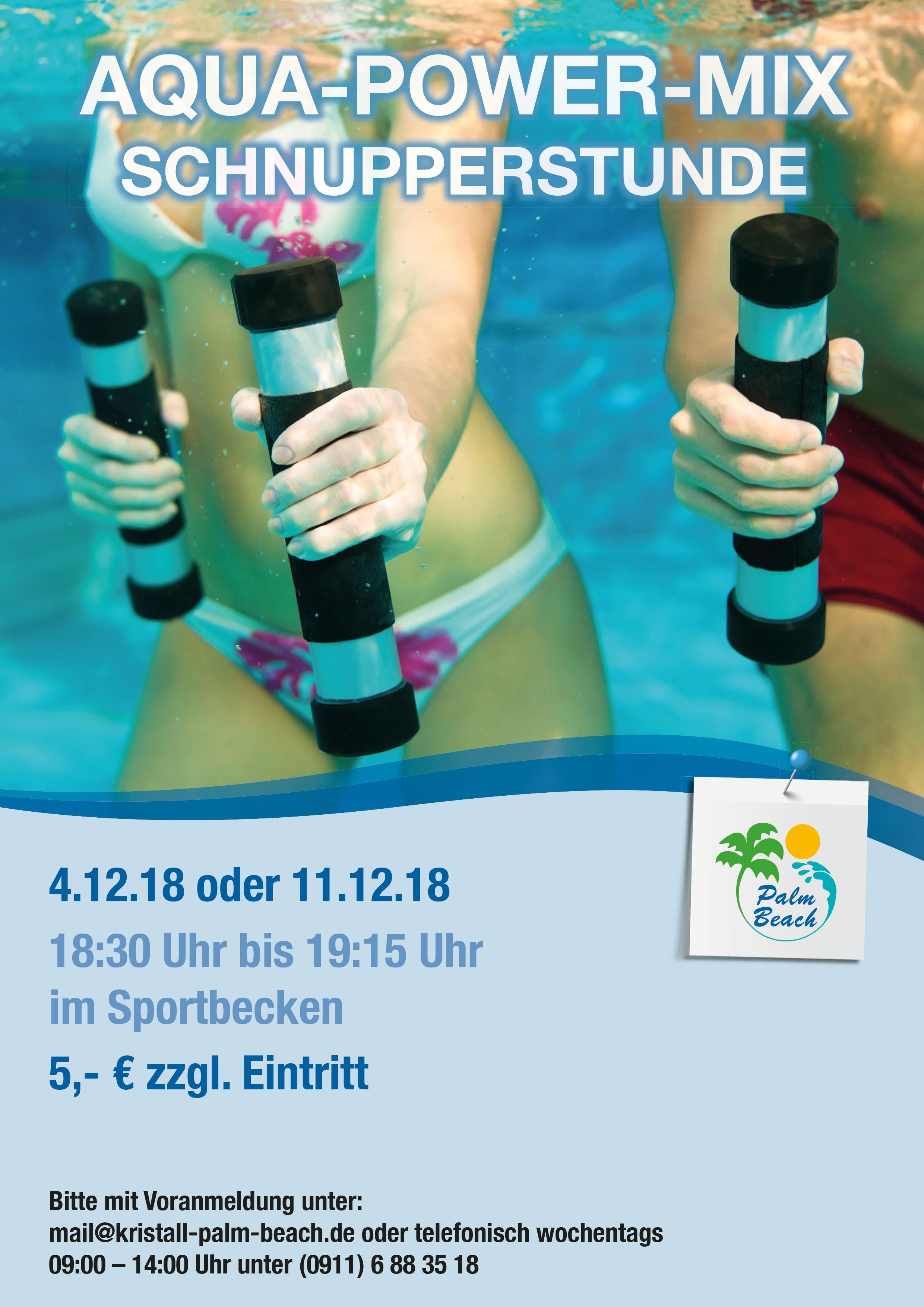Aqua-Power-Mix Schnupperstunde